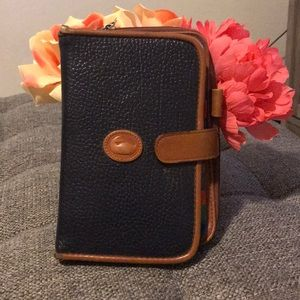Vintage dooney and Burke address/wallet book